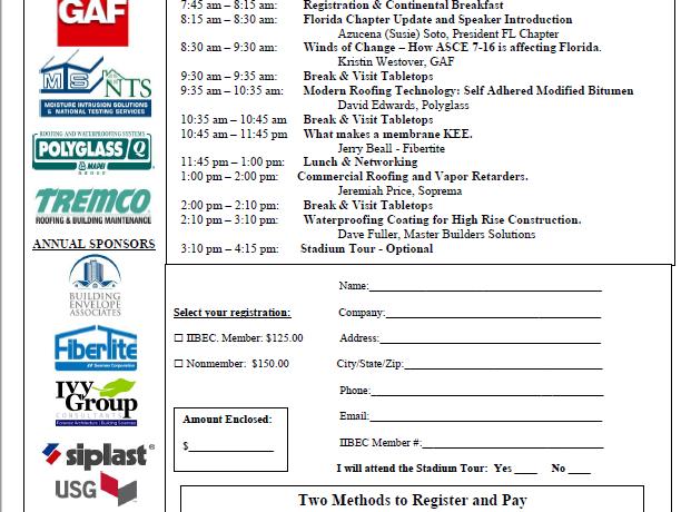 IIBEC Florida Educational Program   08/26/2021 DRV Pink Stadium